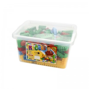 Cuburi constructii 300 piese/cutie, 28 mm - Tupiko
